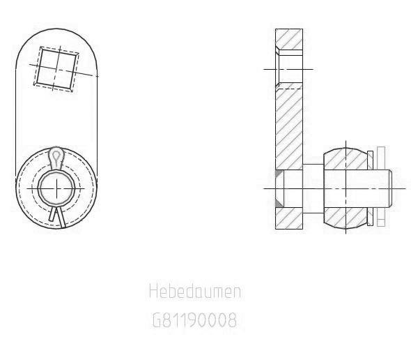 G81190008 BV Serseg EBA 152 Hebedaumen KZ