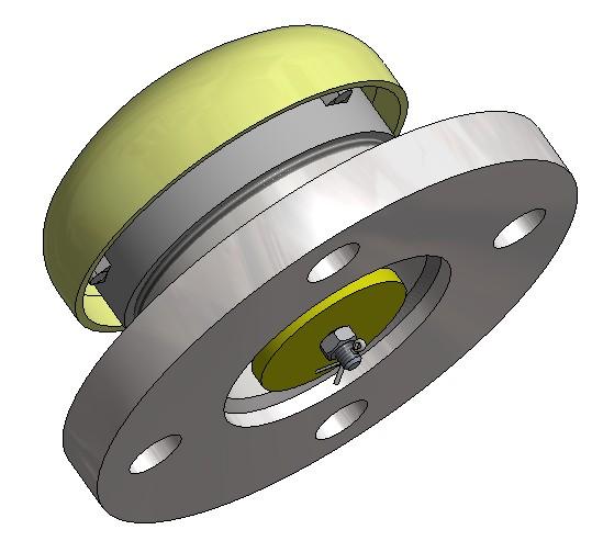 G81240030 Beatmungsventil  3D