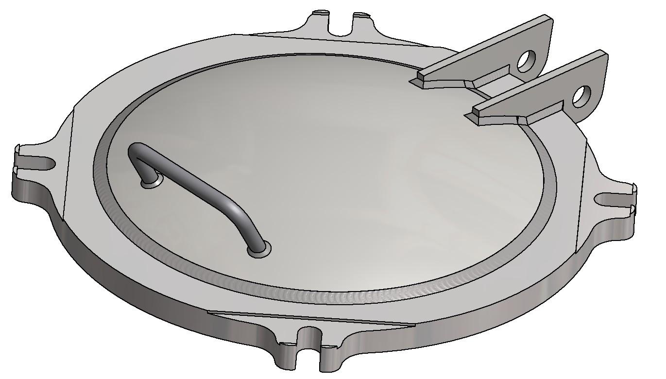 G81370013 4K Domdeckel gewölbt DN500 3D