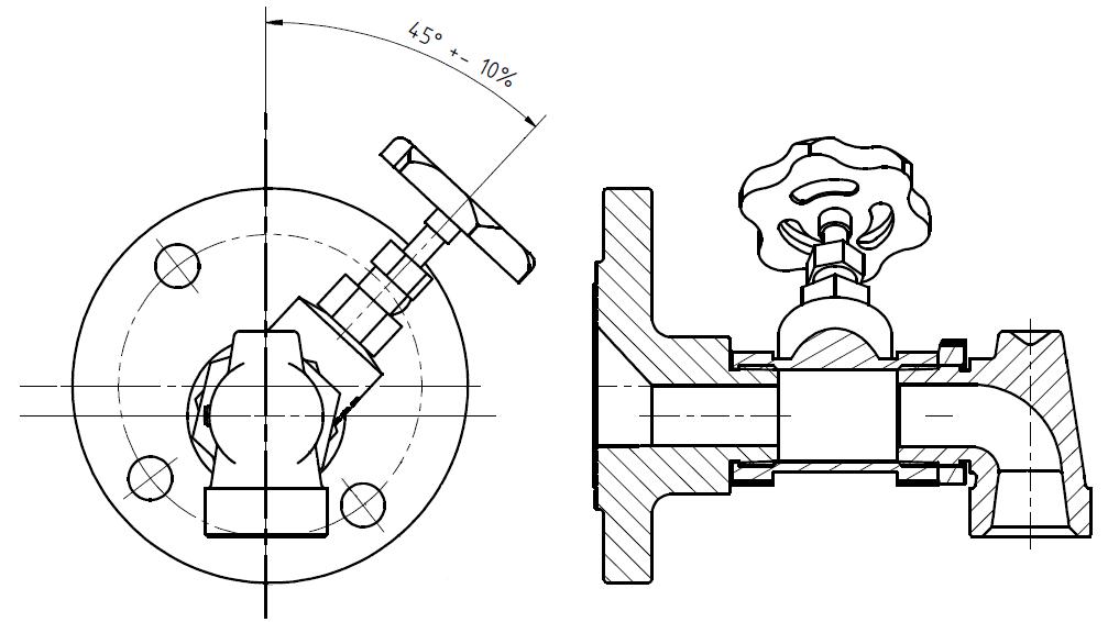 G81550041 Dampfheizung- Absperrschieber KZ